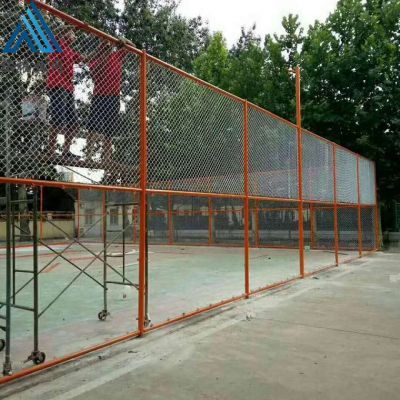 室外球场围栏网 学校勾花围网
