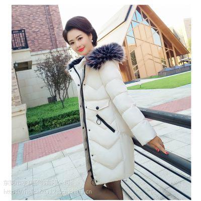 服装批发中山服装市场批发女装冬季棉衣中老年款式地摊货源批发