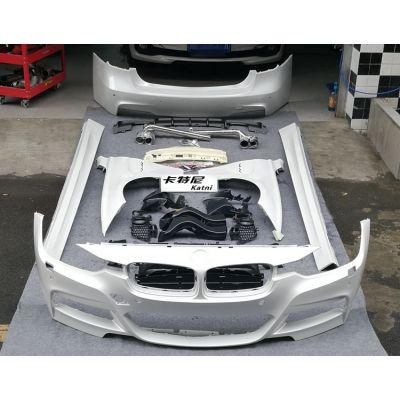 成都宝马320时尚版包围改装M运动套装 M3大包围 成都卡特尼汽车改装
