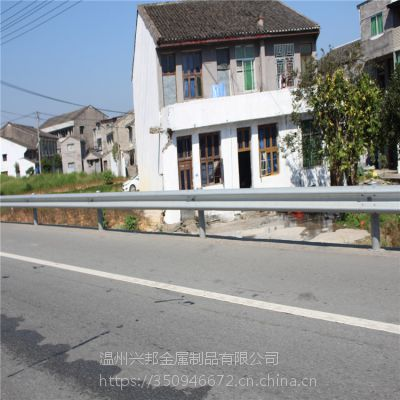 高速公路隔离防撞栏波形护栏板 热镀锌防腐防生锈护栏 可定制