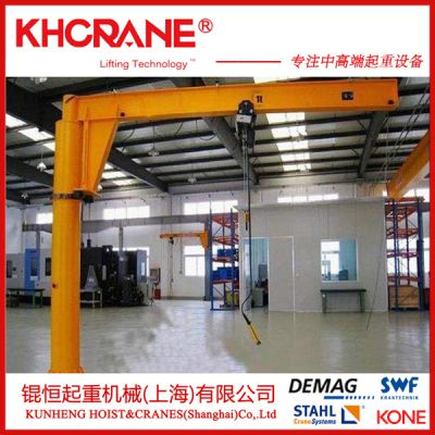 锟恒250kg移动式门架,悬挂行车,轻小型起重机 折臂悬臂吊