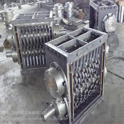 曲阜仓储物流撕碎机汽车外壳撕碎机自动
