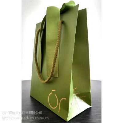 礼品袋奢侈品包装绿色包装