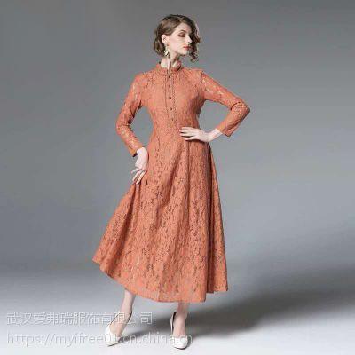东三省卖服装进货渠道港士迪运动套装超仙提花连衣裙