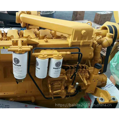 潍柴WD12G245E23国二发动机 180KW推土机用机械泵柴油机