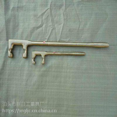 厂家直销新日牌防爆方头F扳手-球墨铸铁爬梯-防爆管子钳