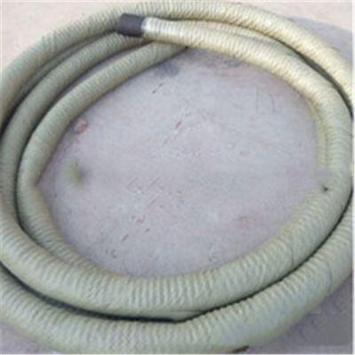 河北直销中频电炉输水胶管材质 加工外包石棉管价格 电炉专用胶管 耐用