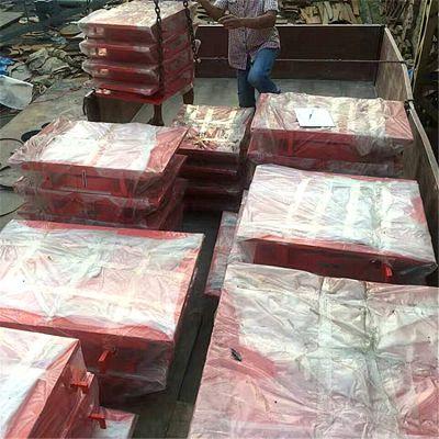 GKGZ网架减震钢支座配件@衢州市陆韵钢支座内外材质相同
