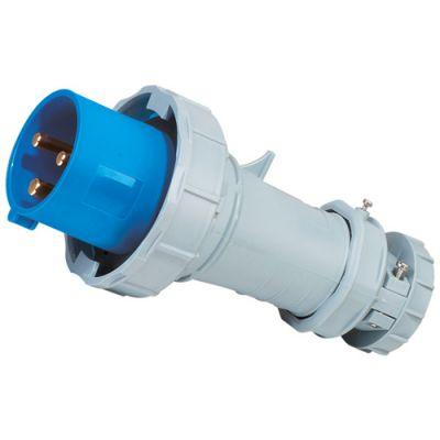 启星QX1571 63A/3P欧标工业防水插座
