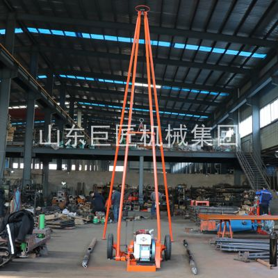 华夏巨匠SH30-2A工程勘察30米取土钻机提供砂金矿取样方法