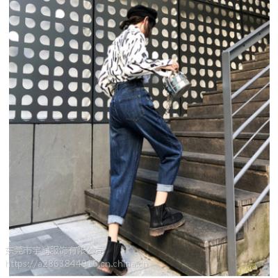 便宜女士铅笔裤2019春夏爆款牛仔裤清货时尚弹力小脚裤清货5元清