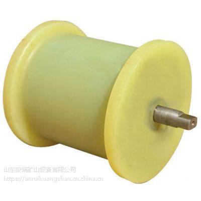 厂家生产矿用尼龙地辊 地滚轮尺寸定做加工选安瑞