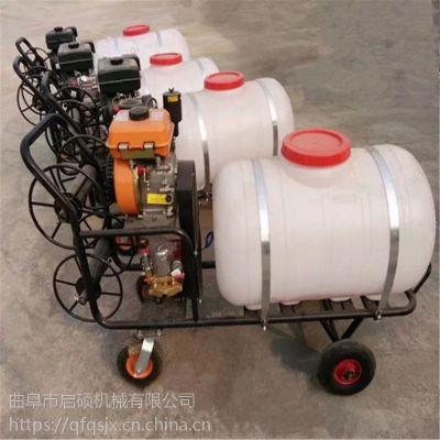启航自走风送式喷雾打药机 果树三轮打药机图片 柴油风送式打药机