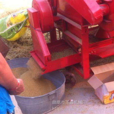 大型小麦谷子脱粒机/圣鲁125打谷机/稻谷粮食脱粒机