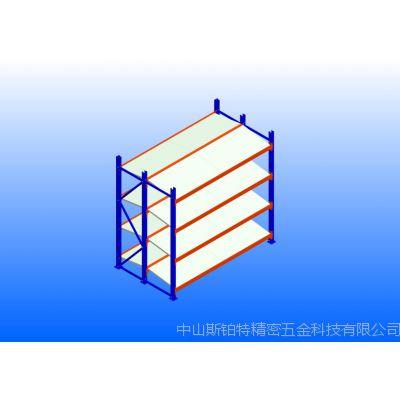 中型三柱层钢层板双面倾斜