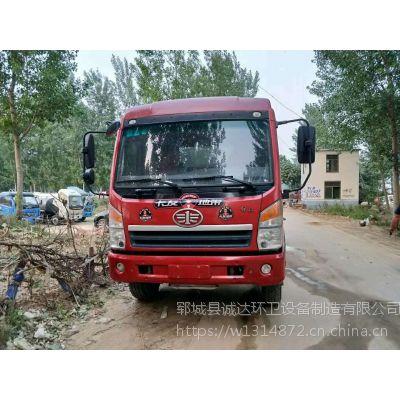 东风天锦160马力12立方洒水车低价出售