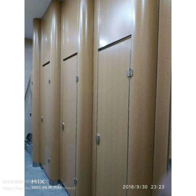 河南抗倍特生态板隔板 PVC 不锈钢公共卫生间洗手间隔断板 厕所隔断门板
