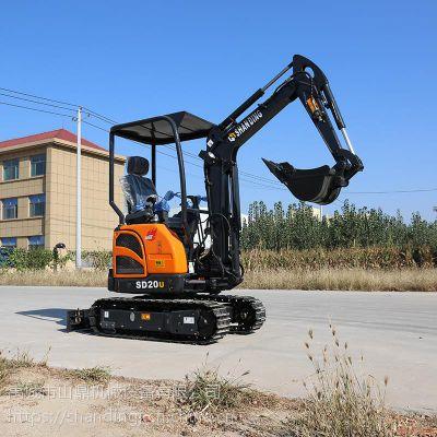 代替人工的煤矿挖掘机 山鼎小型无尾性能高的挖掘机