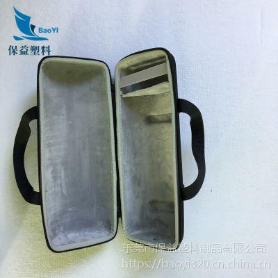 定制植绒EVA内衬防静电雕刻一体成型 茶具热压精致eva内衬包装品