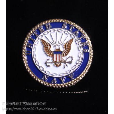 车花纪念币定制,公司胸牌制作,武汉定制纪念币