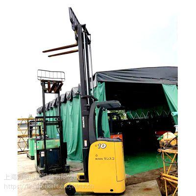 直销进口小松二手前移式电动叉车 1吨电瓶叉车9成新