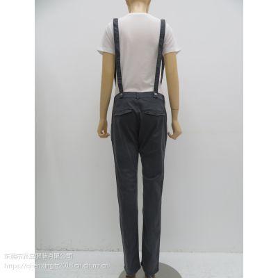 2019年夏季新款女装 原单外贸 吊带休闲裤