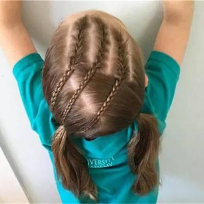 女童美发造型-儿童美发哪家服务好-天津女童美发