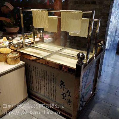 酒店餐饮专用豆油皮机