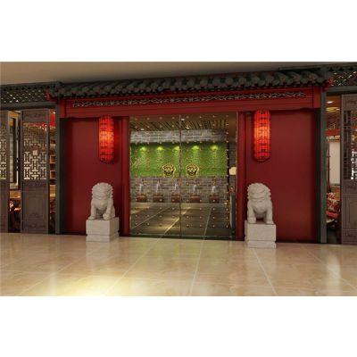济南特色传统中式复古酒楼装修装饰设计公司