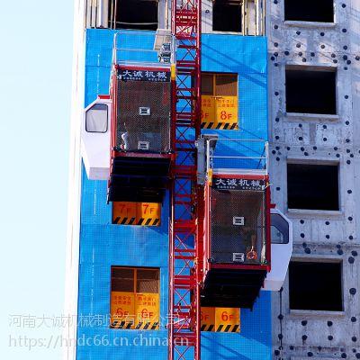 现货供应齿轮式施工升降机 工程施工电梯