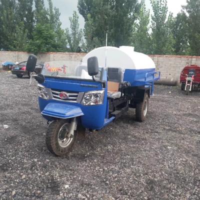 年促销 时风 小型三轮洒水车 农用 3立方 配置齐全
