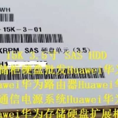 02350BWH 600G/15K/3.5/SAS OceanStor S5500V3华为存储柜硬盘