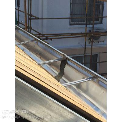 浙野供应襄阳地区彩铝雨水管屋面金属板金属方形