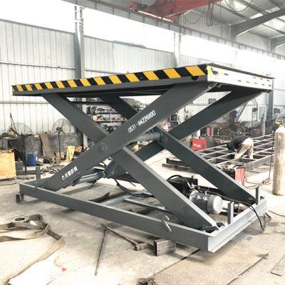 热销款卸货平台 2吨固定式电动升降机 简易式上货台