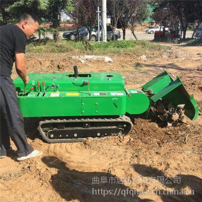 南通果园施肥开沟机 新型履带式旋耕开沟机 多功能回填机