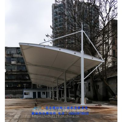 湖南新能源公交车充电站膜结构雨棚价格,长沙充电桩雨棚安装,衡阳充电桩膜结构