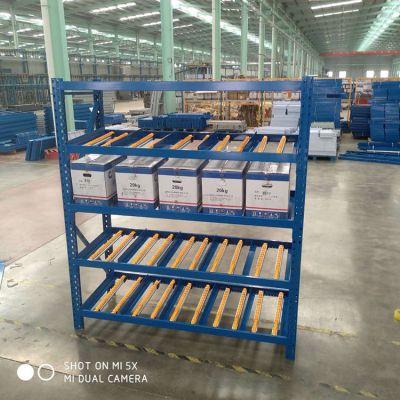河北厂家批发流利式货架 滑移货架厂家 可定制商超货物架