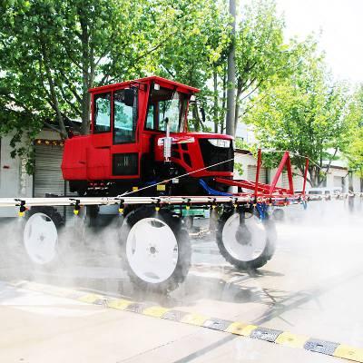 山东金原供应高地隙大容量水箱小麦玉米水稻通用型大田农作物自走式喷药机