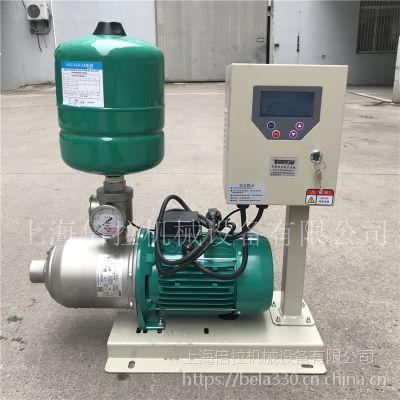 不锈钢威乐MHI1602恒压变频供水泵多少钱