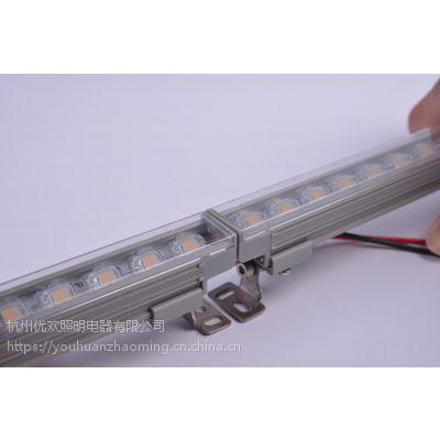 户外亮化2020线条灯 可调角度 匀光无光斑 无缝拼接串行灯条