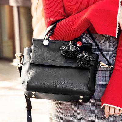 品牌真皮女包牛皮欧美时尚手提包百搭女式单肩手提包现货批发
