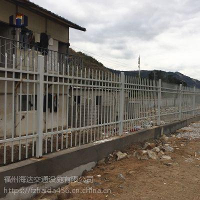 福建围墙护栏厂家低价批发莆田锌钢围墙栅栏小区别墅围栏