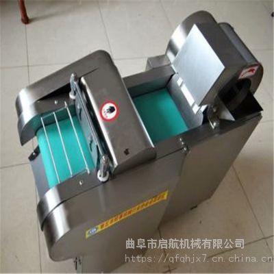 启航切菜加工设备 酸菜切丝机 水果切块机