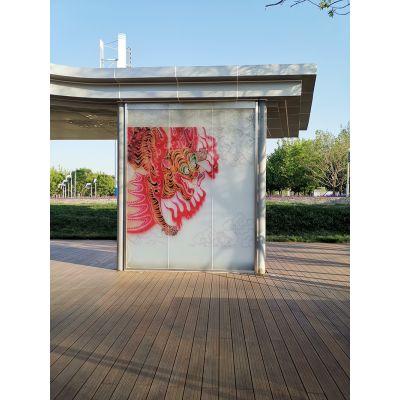 玻璃灯箱,玻璃景观墙就找郑州誉华
