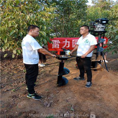 植树挖坑机新技术填补农民种植难