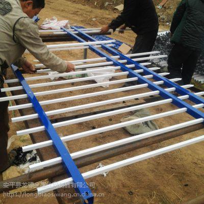 锌钢草坪护栏 锌钢护栏厂家 防攀爬围栏