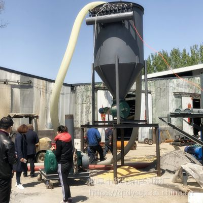 都用-粉煤灰装罐车用负压式输送机 水泥粉气力输送机