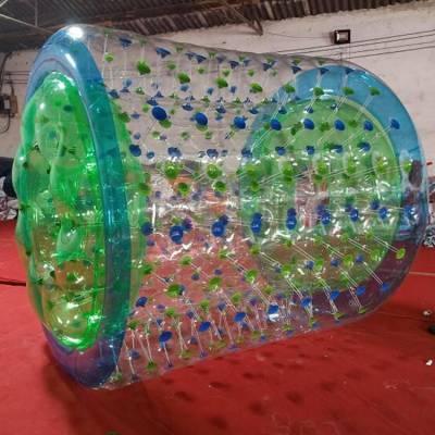 水上滚筒PVC秋冬爆款儿童游乐设备滚筒球多少钱