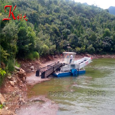 科大供应水草打捞船 水葫芦收集船型号