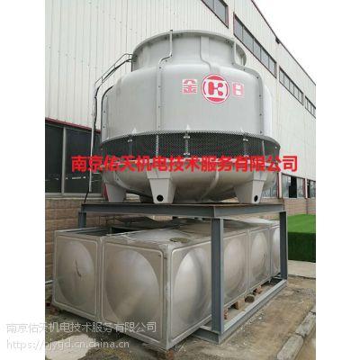 南京KTS-150金日冷却塔圆形逆流冷却塔安装